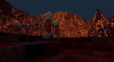 Snow Hell 3 [CTM] | Minecraft PE Maps