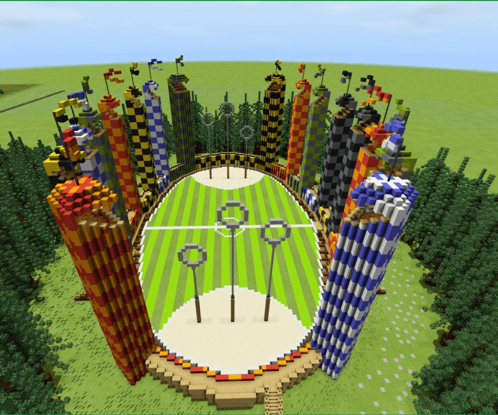 Hogwarts Surrounding Areas Minecraft Pe Maps Minecraft Addons