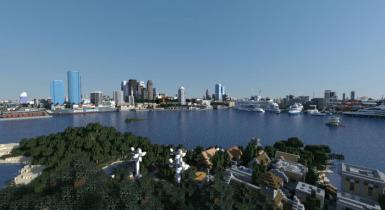 Audia City | Bedrock Edition v1.5 | Minecraft PE Maps