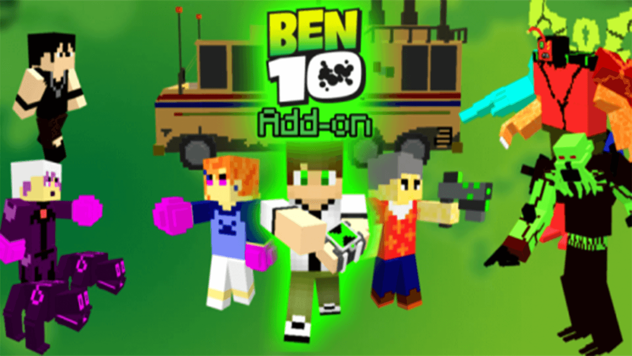 Ben 11 Add-on  Minecraft PE Addon