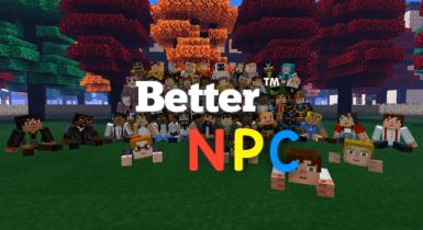 Better NPC Addon | Minecraft PE Addons
