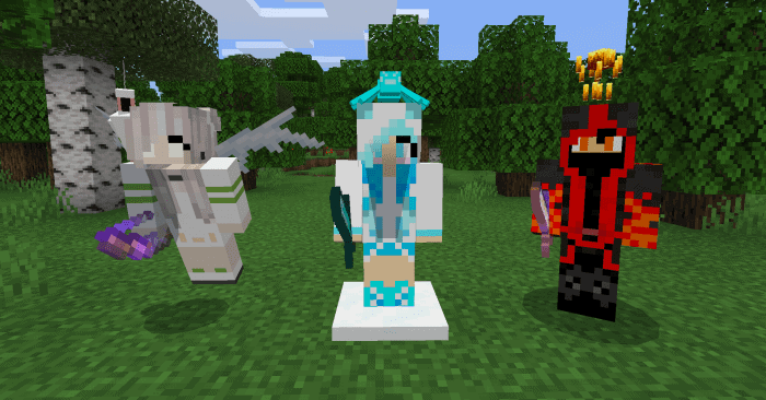 Elemental Friends Add on Minecraft PE Addons