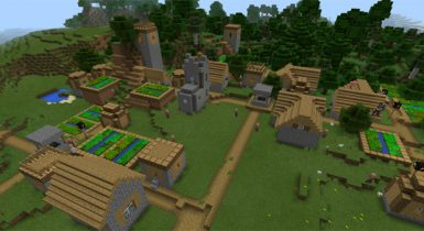 Five Villages At Spawn: -1547993543 | Minecraft Seed