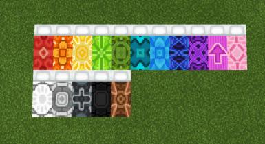 Glazed Beds Texture for Minecraft V3