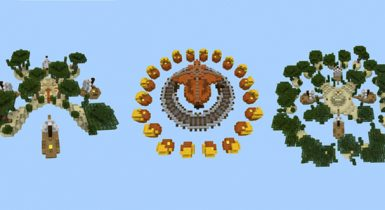 SG SkyWars (16 Maps!) [PvP] Map for MCPE