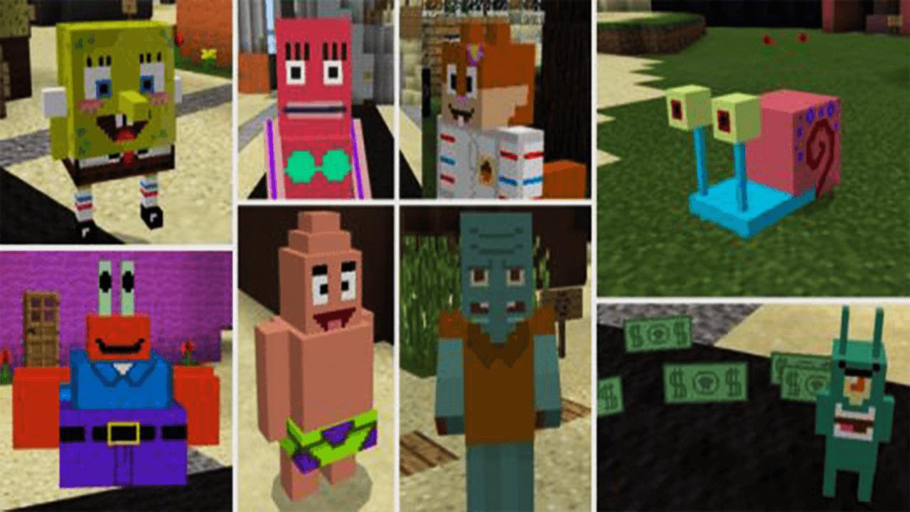 SpongeBob Addon  Add-on for Minecraft