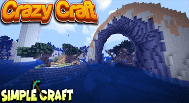 Crazy Craft Custom Terrain + Structures! Minecraft Maps