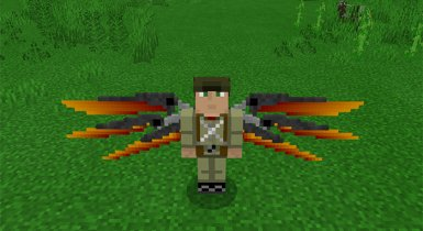 Wings 4D Texture Pack for Minecraft Pe