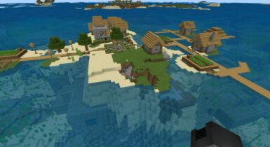 Village Island & Big Stronghold Under 3 Blacksmiths