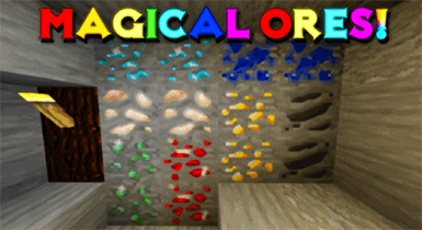 Magical Animated Ores texture pack V2.5