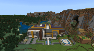 Super Mansion [Redstone] Maps