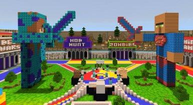 Superland 2.0 Realm 2020 PvP MCPE Maps