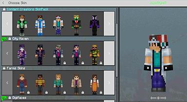 Content Creators Skin Pack   Minecraft Pe