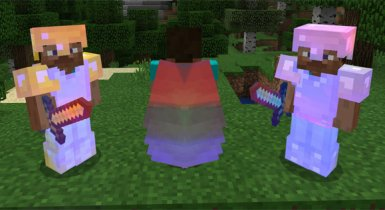 Rainbow Enchants HD| Minecraft Resource Pack