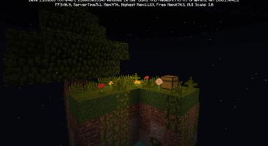 Sky Block | Minecraft PE Maps