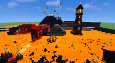 Flame of the Ancients | Minecraft PE Maps