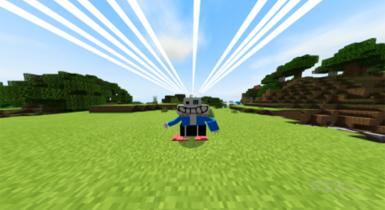 Sans Addon for Minecraft PE (Xans Update)