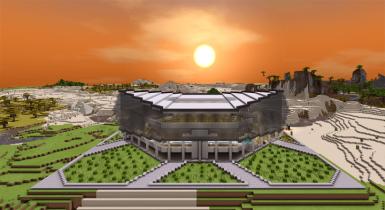 Aquatic Center | Minecraft PE Maps