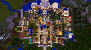 Beacon Town | Minecraft PE Maps