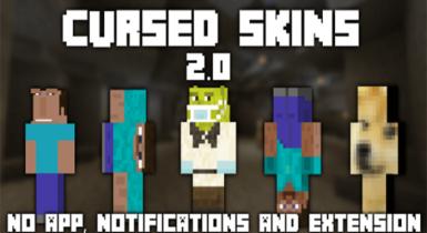Cursed Skins Pack 3.4