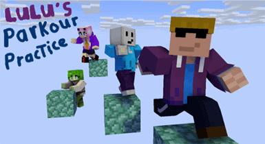 Lulu Parkour Practice | Minecraft Map