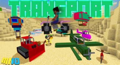 Transport Add-on v8 | Minecraft PE Addons