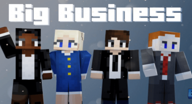 Big Business | Minecraft PE Skin Pack