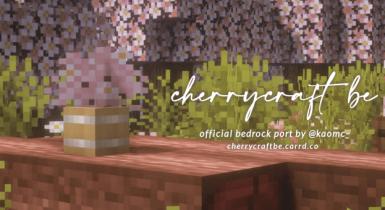 Cherrycraft BE   Minecraft PE Texture Pack