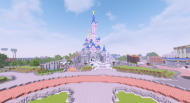 Disneyland Paris Resort | Minecraft Map