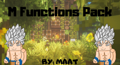 M Function Pack Addon for Minecraft Pe