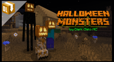 Halloween Monsters Texture Pack