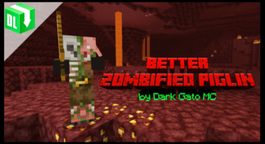 Better Zombified Piglin v3 Texture Pack