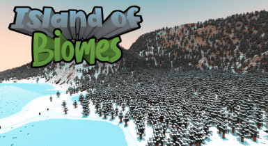 Island of Biomes (Custom Terrain)