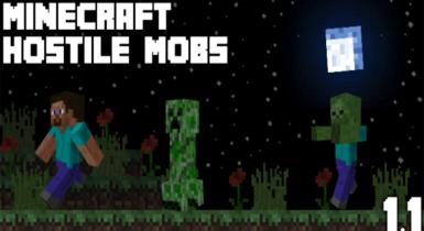 Minecraft Hostile Mobs v1.1