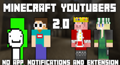 Minecraft YouTubers 3.8 Skin Pack