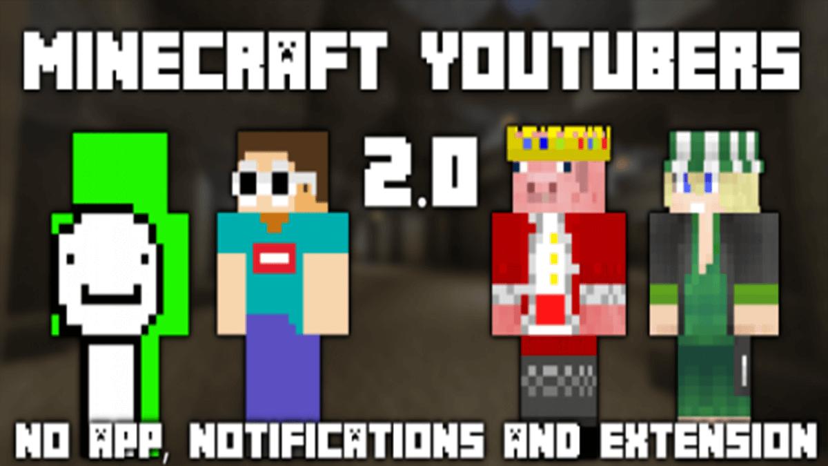 Minecraft YouTubers 2.0 Skin Pack - Minecraft AddOns
