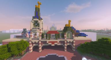Shanghai Disneyland | Minecraft PE Maps