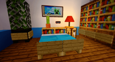 Table Lamp Add-on | Minecraft PE Addons