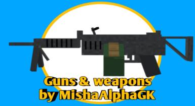 3D Guns & Weapon   Minecraft PE Addons