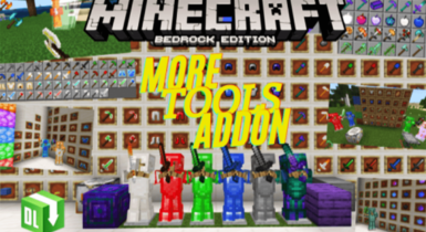More Tools Addon for Minecraft Pe (Armor Durability Fixed)