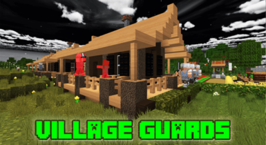 Village Guards Addon for Minecraft