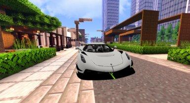 Koenigsegg Jesko   Minecraft PE Addons