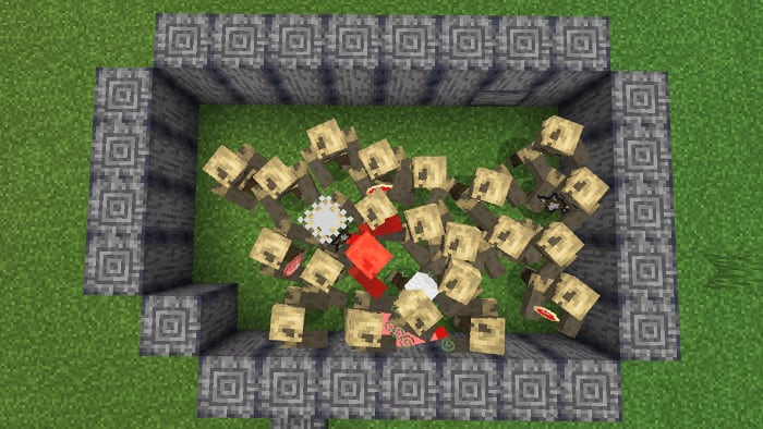 Angry-Mobs-AddOn-for-Minecraft-Pe