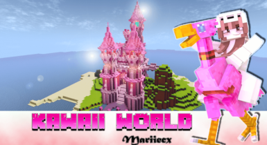 Kawaii World | Minecraft PE Texture Pack