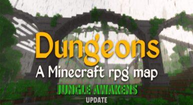 Dungeons Minecraft RPG Adventure Map
