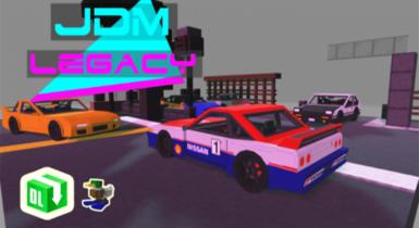 JDM Legacy Car Pack | Minecraft Addon