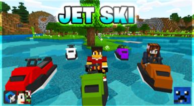 JET SKI Addon for Minecraft