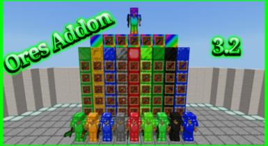 Ore Addon for Minecraft v3.1