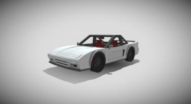 90 Honda NSX (Remastered) Addon | Minecraft PE Addons