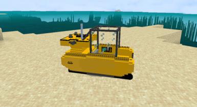 Modern Triton Submarine   Minecraft PE Addons